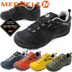 メレル MERRELL カメレオン7 ストーム ゴアテックス メンズ ハイキングシューズ J36475 J36477 J31135 J31133 J36479 ブラック ネイビー オレンジ オリーブ 防水|smw