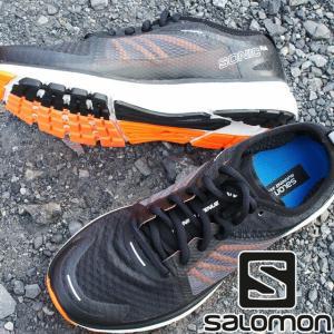 サロモン SALOMON スニーカー メンズ 402419 ソニック RA ローカット ランニングシューズ トレーニング レーシング ブラック|smw