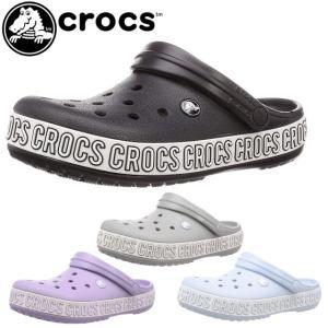 クロックス crocs クロッグサンダル メンズ レディース 205914 クロックバンド ロゴマニア クロッグ コンフォート|smw