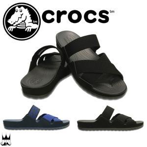 クロックス crocs レディース サンダル 203002 ...