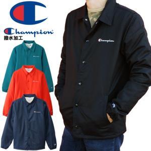 チャンピオン Champion コーチジャケット メンズ C3-L610 アクションスタイル トップス アウター ウィンド ブレーカー 長袖|smw