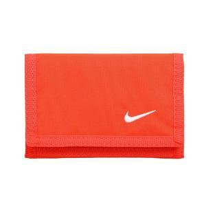 ナイキ NIKE 財布 メンズ レディース NS1002 ベーシックウォレット 三つ折り財布 小銭入れ コインケース カードケース ウォレット シンプル 赤|smw