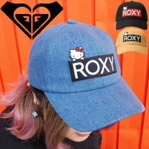 ロキシー ROXY 帽子 キャップ レディース RCP194323 HELLO KITTY ハローキティ コラボ サーフ系 サーフィン|smw