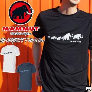 マムート MAMMUT メンズ Tシャツ 1017-10061 QD アジリティ Tシャツ 半袖 速乾 吸水 キャンプ フェス ウエア アパレル smw