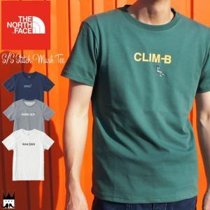 ザ・ノースフェイス THE NORTH FACE メンズ Tシャツ NT31830 ショートスリーブスティッチマークティー ウエア 半袖 フェス 速乾 静電ケア|smw