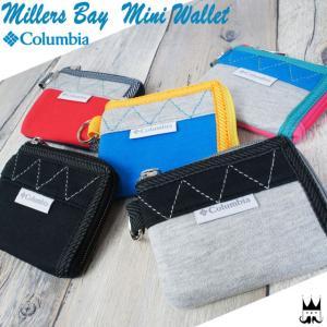 コロンビア Columbia メンズ レディース PU2021 ミラーズベイミニウォレット 財布 コインケース 小銭入れ カード ファスナー 二重リング|smw