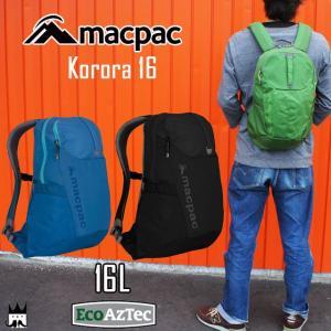 マックパック macpacメンズ レディース MM71600 コロラ16 16L カジュアル リュック デイパック バックパック ハイキング|smw