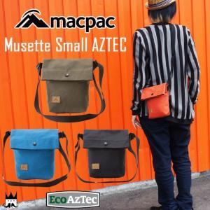 マックパック macpac メンズ レディース MM91606 ミュゼット スモール アズテック ショルダーA5 ポーチ 小物入れ|smw