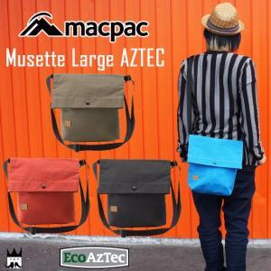 マックパック macpac メンズ レディース MM91605 ミュゼット ラージ アズテック ショルダー A4 ポーチ 小物入れ|smw