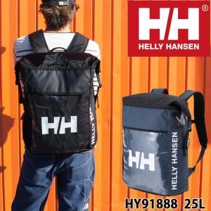 ヘリーハンセン バッグ メンズ レディース HY91888 ロールマップバッグ リュック バックパック 防水 PC収納 デイパック ブラック ネイビー 通勤|smw