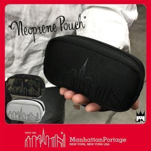 マンハッタンポーテージ Manhattan Portage メンズ レディース ポーチ MP-1077-NP ネポプレンポーチ アクセサリーポーチ 小物入れ ハンディカムケース|smw