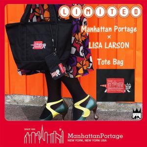 マンハッタンポーテージ Manhattan Portage MP1305LARSON メンズ レディース バッグ リサ・ラーソン トートバッグ 手提げ リミテッド|smw
