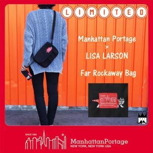 マンハッタンポーテージ Manhattan Portage メンズ レディース バッグ MP1410-LARSON リサ・ラーソン ファーロックアウェイバッグ ショルダーバッグ リミテッド|smw