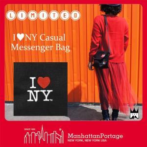 マンハッタンポーテージ Manhattan Portage メンズ レディース バッグ MP1603-INY-35TH アイラブニューヨーク メッセンジャーバッグ ショルダーバッグ 斜め掛け|smw
