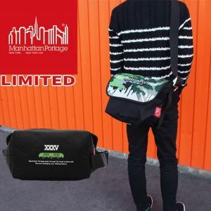 マンハッタンポーテージ バッグ メンズ レディース MP1606V-JR-ART-18 キャンバスアートプリント ビンテージメッセンジャーバッグ リミテッド smw