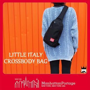 マンハッタンポーテージ Manhattan Portage メンズ レディース バッグ MP1927 リトルイタリークロス ボディバッグ ワンショルダーバッグ 斜め掛け 2WAY|smw