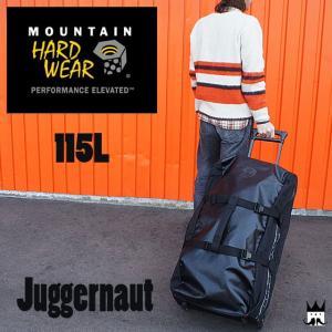 マウンテンハードウェア MOUNTAIN HARDWEARメンズ レディース バッグ OU5413 115L ジャガーノート115 キャリー ホイール 黒 旅行 遠征 出張|smw