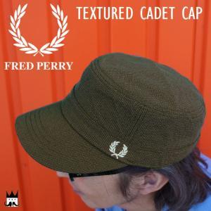 フレッドペリー FRED PERRY メンズ レディース 帽子 HW3638 キャデットキャップ ミリタリー トラディショナルブリティッシュワークウェアスタイル月桂樹|smw