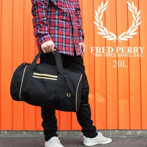 フレッドペリー FRED PERRY ツインチップバレルバッグ メンズ レディース L8264 20...