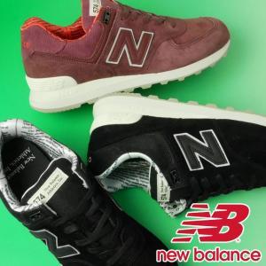 ニューバランス new balance  ローカットスニーカー メンズ ML574 NFH NFG ワイズD レースアップシューズ 運動靴 スポーツ ランニング 黒 ワイン|smw