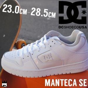 ディーシーシューズ DC SHOES メンズ スニーカー ローカット DM171024 MANTECA SE 白 ホワイト|smw