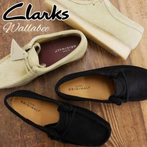 クラークス Clarks ワラビー 革靴 レザー レディース 289G クレープソール レザーシューズ レースアップシューズ 黒 ブラック メープル ベージュ スエード|smw