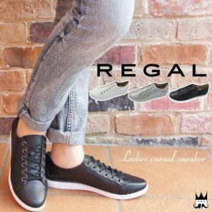 リーガル REGAL レディース スニーカー BE63 革靴 レザー レースアップ レディーススニー...