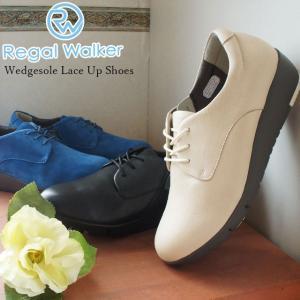 リーガルウォーカー REGAL WALKER レースアップシューズ 革靴 レザー レディース HB6...