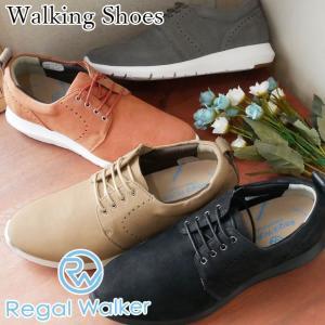 リーガルウォーカー REGAL WALKER レースアップシューズ 革靴 レザー レディース HB80 3E 4E 調節可能 ウォーキングシューズ サイドゴア ミセス 黒 ブラック|smw