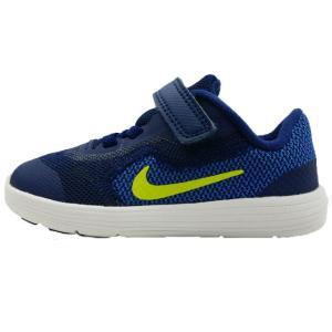 ナイキ NIKE レボリューション3 男の子 子供靴 キッズ ジュニア スニーカー 819415 819418 REVOLUTION 3(TDV) ベルクロ マジック 運動靴|smw