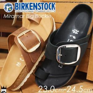 ビルケンシュトック BIRKENSTOCK Miramar Big Buckle ミラマー ビッグ バックル レディース サンダル 1006527 1006529 黒 ブラック ブラウン|smw