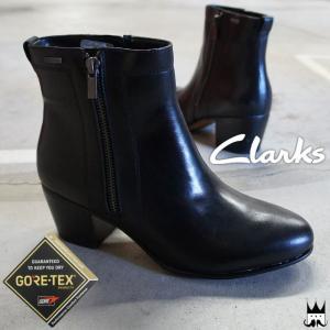 クラークス Clarks  122G レディース ショートブーツ 本革   ■商品説明 B(ブラック...