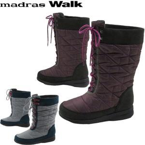 マドラスウォーク madras Walk  MWL2062 4E レディース スノーブーツ 防水  ...