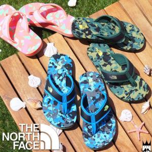 ザ・ノースフェイス ノースフェイス THE NORTH FACE 男の子 女の子 子供靴 キッズ ジュニア ビーチサンダル トングサンダル NFJ01642 K BC Flip-Flop サンダル|smw