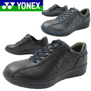 ヨネックス YONEX レディース ウォーキングシューズ SHW-LC92 スニーカー パワークッション 3.5E 黒 ブラック ネイビー|smw