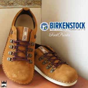 ビルケンシュトック BIRKENSTOCK Footprints メンズ フットプリンツ 444201 レースアップ マニッシュ チロリアンテープ コンフォート|smw