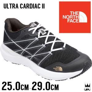 ザ・ノースフェイス THE NORTH FACE ウルトラ カーディアック2 メンズ スニーカー NF01701 Ultra Cardiac 2 トレイル ランニングシューズ 黒 ブラック KK|smw
