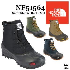 """ザ・ノースフェイス THE NORTH FACE メンズ レディース ブーツ NF51564 Snow Shot 6'' Boot TX II スノーショット 6"""" ブーツテキスタイル スノーブーツ 防水"""