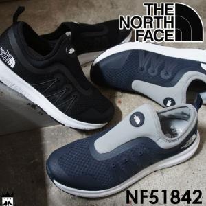 ザ・ノースフェイス THE NORTH FACE トラバースベロシティスリップオン メンズ レディース スリッポン NF51842 軽量 黒 ブラック ネイビー グリーン オリーブ KW|smw