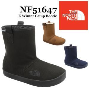 ザ・ノースフェイス THE NORTH FACE 男の子 女の子 子供靴 キッズ ジュニア ブーツ NFJ51647 ウインター キャンプ ブーティー ウィンターブーツ スノーブーツ|smw