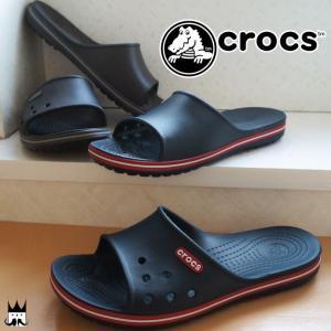 クロックス crocs クロックバンド 2.0 スライド メンズ レディース サンダル コンフォートサンダル シャワーサンダル 204108 crocband slide ぺたんこ フラット|smw