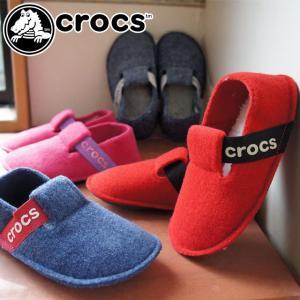 クロックス crocs 男の子 女の子 子供靴 キッズ ジュニア スリッパ 205349 クラシック...