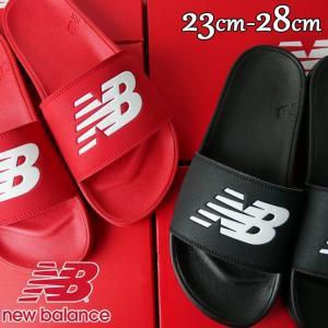 ニューバランス new balance サンダル メンズ レディース SMF200 ワイズD 黒 ブラック 赤 レッド シャワーサンダル シャワサン スポーツサンダル スポサン|smw