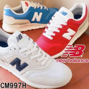 ニューバランス new balance メンズ スニーカー CM997H ワイズD ホワイト 白 レ...