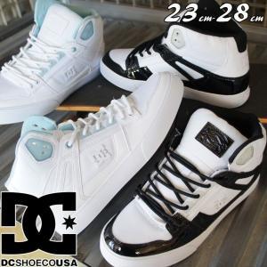 DC シューズ スニーカー 白 メンズ レディース DM182019 ホワイト ピュア ハイ−トップ WC SE SN ハイカット スケーター|smw