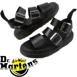 ドクターマーチン Dr.Martensレディース コンフォートサンダル グリフォン ブラック 疲れにくい 厚底|smw