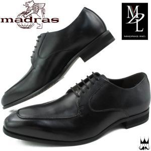 マドラス madras MDL エムディーエル メンズ ビジネスシューズ DS4103 ブラック 3E smw