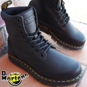 ドクターマーチン メンズ レディース 8ホール ブーツ 2414401 1460 CUBE FLEX レキシントン 黒 ブラック ワークブーツ|smw