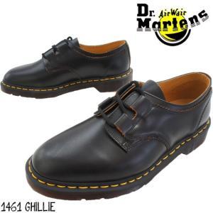 ドクターマーチン メンズ 3ホールシューズ 1461 GHILLIE 22695001黒 ブラック ビジネスシューズ オックスフォードシューズ 3アイレット 3eye|smw