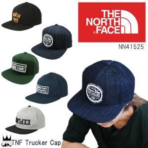 ザ・ノースフェイス THE NORTH FACE TNFトラッカーキャップ 帽子 NN41525 メンズ レディース フリーサイズ|smw